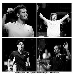 So, the 2017 #NextGenATP Finals semi-finals are set! The game schedule for Friday, NOV 10 looks like this: 19:00 CET/10:00 PST Borna #Coric 🇭🇷 Vs Andrey #Rublev 🇷🇺 21:00 CET/12:00 PST Hyeon #Chung 🇰🇷 Vs Daniil #Medvedev 🇷🇺 WHO IS YOUR FAVORITE FOR THE TITTLE?!?👏 #tennisnews #semifinals #nextgen #nextgenatpfinals #bornacoric #hyeonchung #andreyrublev #daniilmedvedev #etennisleague #etennisleaguenation #fantasytennis Tennis Videos, Tennis News, Final S, Semi Final, Tennis Match, Tennis Players, Schedule, Friday, Game