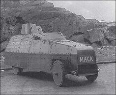 Mack armored car.