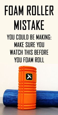 Foam roller MISTAKE! This video will show you how to foam roll correctly by addressing the important topic of the direction you must foam roll in to have it work properly. If you roll in the wrong direction you can actually do more harm than good! #foamrolling #musclepain #tightmuscles #howtofoamroll