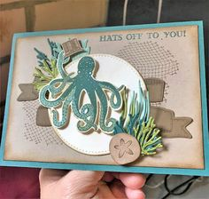 Sea of Textures The Crafty Crafter: Paper Crew Challenge #PCC287