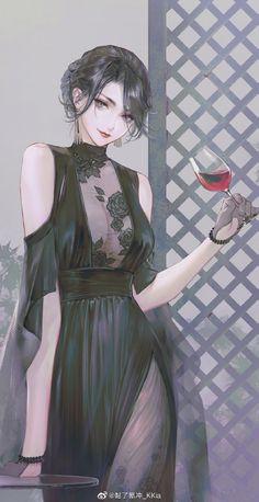 Weibo: Akira – About Anime Manga Girl, Chica Anime Manga, Anime Art Girl, Anime Guys, Pretty Anime Girl, Beautiful Anime Girl, Anime Fantasy, Fantasy Girl, Art Anime Fille