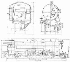 110 Best Railroad blueprints and drawings images in 2019