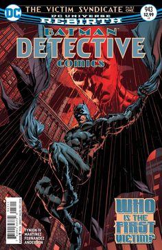 DETECTIVE COMICS #943 THE VICTIM SYNDICATE, PART 1 DCCOMICSNEWS.COM