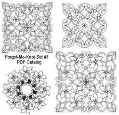 Forget-Me-Knot Set #1 PDF Catalog