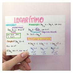 """323 curtidas, 7 comentários - Futura Dra. Gabriela⚕️ (@sonhodamedicina) no Instagram: """"MATEMÁTICA- LOGARITMO #resumosonhodamedicina #matematica #resumo #medicina"""""""