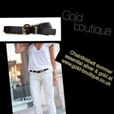 Summer fun summer fashion summer belts #goldboutique