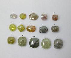 0.33~1.58Cts Multi Color Mix Shape Rose Cut Diamonds #Bigdiamonds Rose Cut Diamond, Color Mixing, Diamonds, Shapes, Diamond