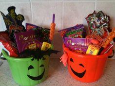 Treat buckets