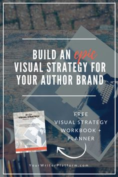 The visual trend in marketing is inescapable. Learn how to put together an epic visual strategy to boost your book marketing efforts & author brand. Source: Build An Epic Visual Strategy for Your Author Brand Grant Writing, Writing A Book, Writing Tips, Fiction Writing, Writing Studio, Writing Resources, Writing Help, Writing Prompts, Print On Demand