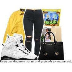 Blaxk & Yellow Shix-