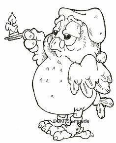 14808 Nighttime Owl Unmounted