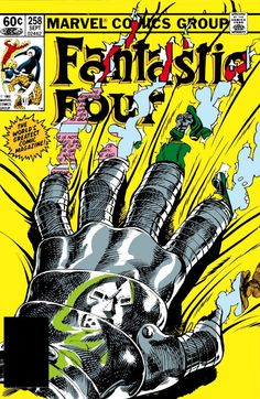 Fantastic Four #258 by John Byrne.  One of my fave FF covers.