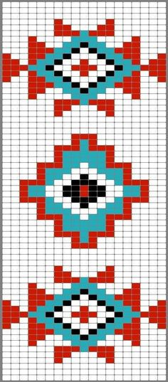 Versatile And Unique Free Crochet Patterns - Hairstyle Tapestry Crochet Patterns, Bead Loom Patterns, Weaving Patterns, Stitch Patterns, Motif Navajo, Navajo Pattern, Navajo Rugs, Native American Patterns, Native American Beading