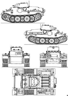 Sd.Kfz. 101 Pz.Kpfw.I Ausf.F Tank Drawing, Blueprint Drawing, Scale Model Ships, Rc Tank, Tank Armor, Model Tanks, Defence Force, Armored Fighting Vehicle, Ww2 Tanks