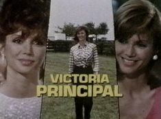 Victoria Principal is the elder of two daughters born to Victor Principal and Ree Veal. Description from switchglo.com. I searched for this on bing.com/images