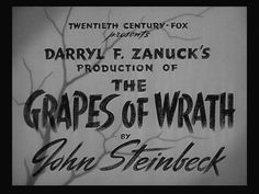 Grapes of wrath movie title