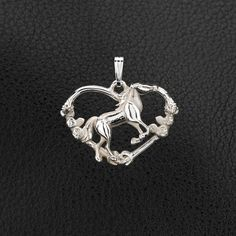 "Sterling Silver ""Free Spirit"" Horse Pendant with Chain. 25% off through May 10th.  Apply Coupon MOTHERSDAYOFF25 at register"