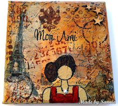 Made by Sannie: Parisian Lady