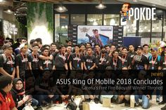 King of Mobile 2018 concludes with many left satisfied from walking away with lots of ASUS goodies!   Share this:   Facebook Twitter Google Tumblr LinkedIn Reddit Pinterest Pocket WhatsApp Telegram Skype Email Print