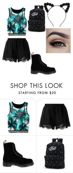 """""""camera outfit"""" by bellapaige-clxxi on Polyvore featuring Twin-Set, Dr. Martens and Vans"""