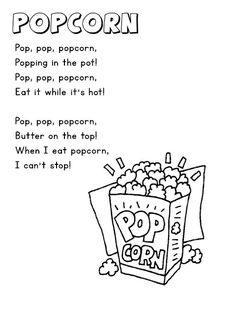 Fall Poems - Popcorn, Apples, Rain