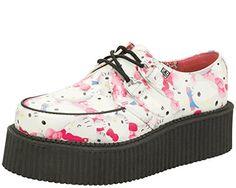 T.U.K. Shoes Women's A8888 White Polyurethane Creeper 11 T.U.K. http://www.amazon.com/dp/B00UGJSV9M/ref=cm_sw_r_pi_dp_0LsUvb18EWJJX