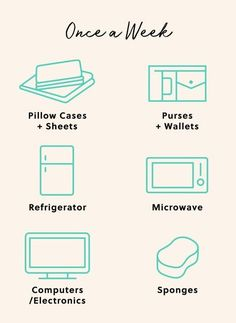 You spend approximately of your life in bed, so you want to make sure it's a clean place you actually want to be. Clean Fridge, Green Cleaning, Kitchen Cleaning, Getting Organized, Clean House, Cleaning Hacks, Helpful Hints, Pillows, Organizing