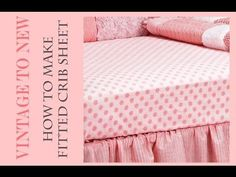 This tutorial shows you how to make a fitted crib sheet. It is a great way to match your baby quilts/nursery sets to the crib sheets. Baby Crib Diy, Baby Crib Sheets, Toddler Sheets, Baby Cribs, Bed Sheets, Fitted Sheets, Crib Sheet Tutorial, Crib Sheet Pattern, Cot Quilt