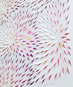 Paper & Acrylic Artwork by Lisa Rodden | Yellowtrace