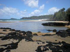 Secret Beach, Kauai, Hawaii