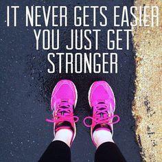 True about running