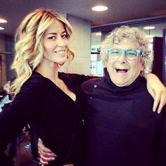 Elena Santarelli e Aldo Coppola