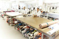 Inside the Carolina Herrera New York atelier Sewing Room Design, Sewing Studio, Sewing Rooms, Costura Industrial, Carolina Herrera, Sewing Room Organization, My Art Studio, Costume Shop, Space Crafts