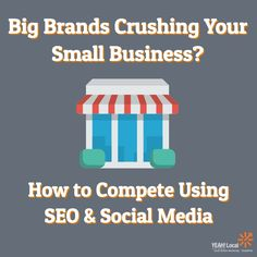 In this article, I will break down how small businesses can use SEO and social media to compete with the big brands and grab a piece of the market share for themselves.