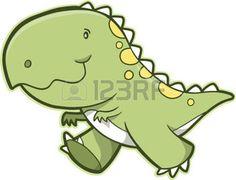 Vector Dinosaur Illustration
