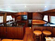 1989 Hatteras 65 Enclosed Bridge Power Boat For Sale - www.yachtworld.com