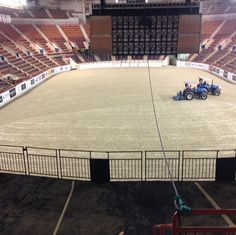 Main Arena Prep: COMPLETE  It's almost time!!! Come celebrate 70 years with us Oct. 8-17! #70thPNHS
