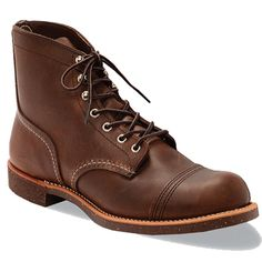 Red Wing 8111 Amber Brown Leather