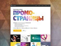 Hi, Folks! I am a glad to show you new version of my own portfolio site made on Webflow.com engine!  Link to the real site: http://artlipsky.ru