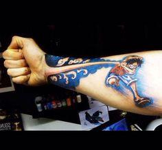 Cool Anime Tattoo Idea Idea