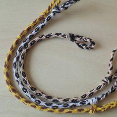 Kumihimo Bracelet 16 Spiral Animal Friendship by Takemotoya