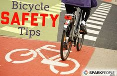 Whether you want to save gas or get in shape, riding a bike is a great way to get around. Here are some safety guidelines to help ensure your ride goes smoothly. via @SparkPeople #roadcyclingforbeginners