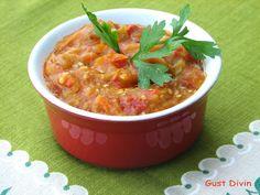.: Zacusca de vara My Recipes, Salsa, Curry, Ethnic Recipes, Food, Curries, Essen, Salsa Music, Meals