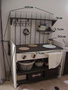 ままごとキッチン 作り方編 : petit tresor*