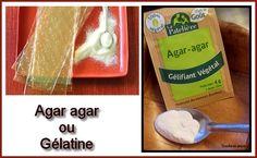 Les inconvénients de l'agar agar par rapport à la gélatine  Si on utilise un ingrédient acide comme le citron, par exemple, il réduit à néant le pouvoir gélifiant de l'agar agar alors que ...