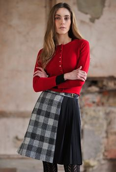 Everyone's favourite, the cashmere cropped cardigan is a design that will always have a special place in any wardrobe, only from Brora.