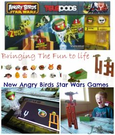 Bring the game to life! ANGRY BIRDS STAR WARS Telepods game by Hasbro