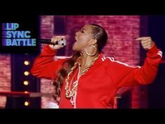 "Queen Latifah's Rock the Bells vs. Marlon Wayan's Stay With Me | Lip Sync Battle-   Published on May 28, 2015The epic battle continues. Marlon Wayans taking things slow with an incredible performance of ""Stay With Me"" by Sam Smith. Queen Latifah closes out the battle with a classic performance of ""Rock the Bells"" by our own, LL Cool J."
