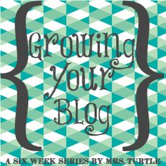 Growing Your Blog: Week One