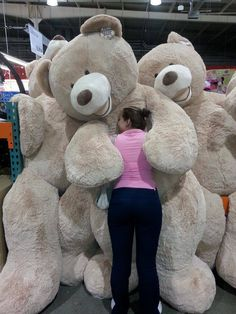 "Teddy Bear 93"". The most enormous teddy bear to ever roam the planet. Costco"